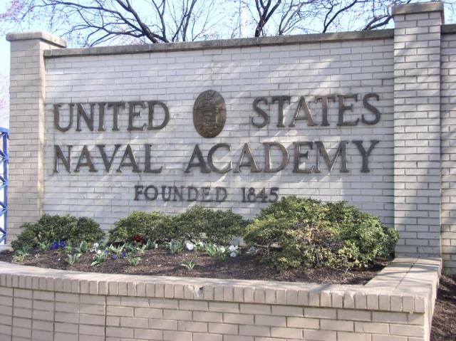 USNA Main Gate